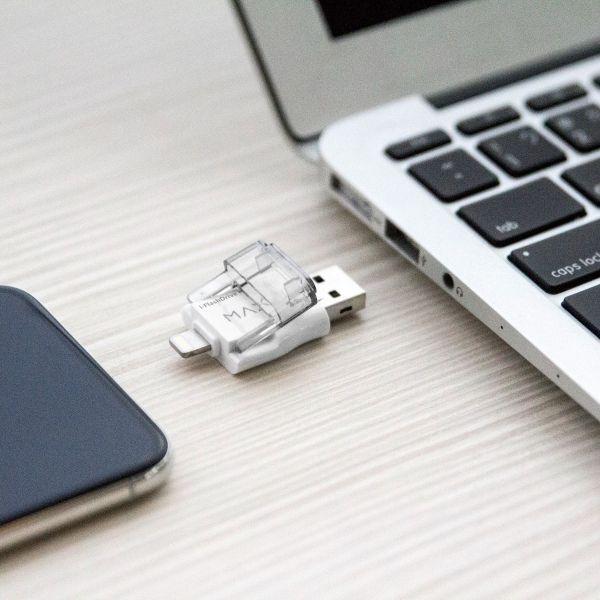 PhotoFast i-FlashDrive MAX EX 64GB 隨身儲存裝置